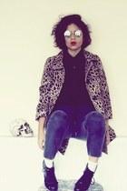 H&M coat - H&M boots - H&M pants