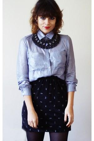 H&M shirt - Top Shop necklace