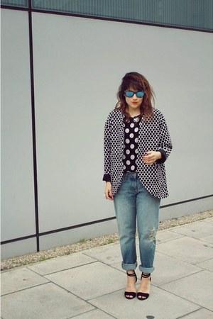Topshop jacket - Diesel jeans