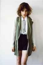 old vest - Zara shorts