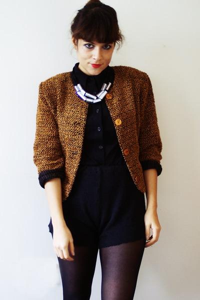 DIY necklace - Mum jacket