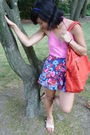 Pink-aeropostale-top-blue-lily-white-shorts-red-sissi-rossi-purse-blue-aer