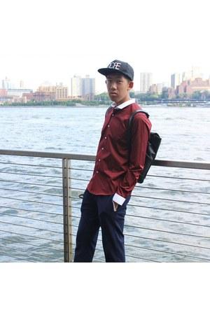 Dope hat - Maku Store bag - V Men China pants
