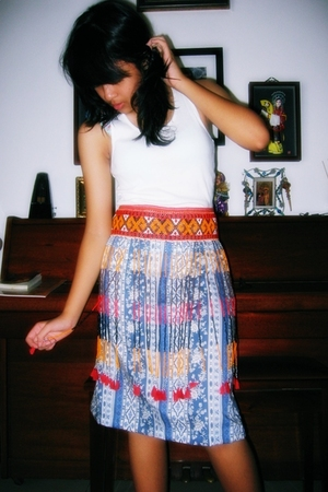justice top - skirt - tana toraja indonesia belt