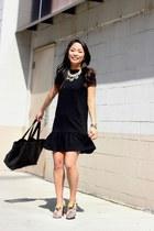 black asos dress - red snakeskin PROENZA SCHOULER heels