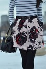 Suede-colin-stuart-boots-satchel-balenciaga-bag-floral-anthropologie-skirt