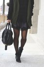 Gray-silence-noise-dress-black-trouve-sweater-black-alexander-wang-bag
