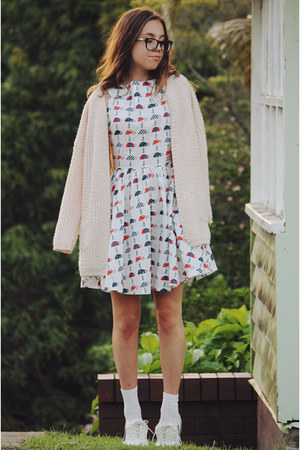 white Paint the Town dress