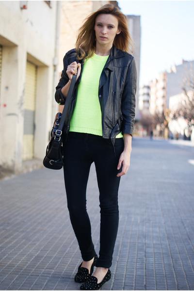 Primark jumper - Topshop jeans - Topshop jacket