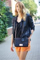 Topshop jacket - Zara shirt - H&M shorts