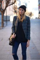 Topshop jeans - Zara jacket - Topshop blouse