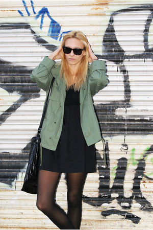 Oysho jacket - Topshop dress - Zara bag