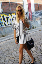 H&M shorts - Topshop bag - H&M Trend blouse