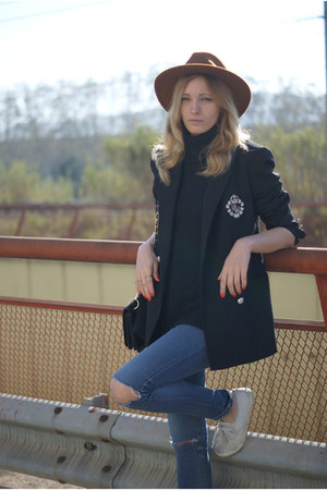 Ralph Laurent blazer - Topshop shoes - Topshop jeans - Sfera hat