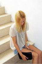 Topshop blouse - Topshop purse