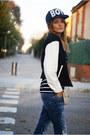 Zara-jeans-romwecom-hat-suiteblanco-jacket-romwecom-shirt