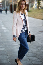 Topshop jeans - H&M jacket - Zara shirt