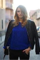 BLANCO jacket - H&M Trend cardigan - Zara pants