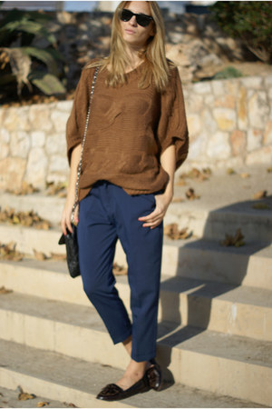 nowIStyle jumper - nowIStyle pants - Topshop flats