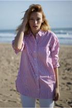H&M jeans - vintage blouse
