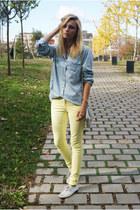 Topman blouse - H&M jeans