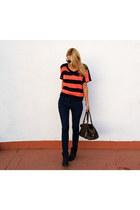 Topshop jumper - Topshop boots - Zara jeans