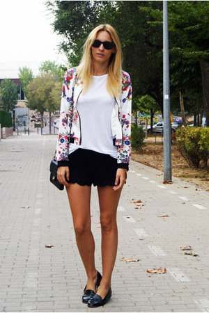 Romwecom jacket - H&amp;M shirt - H&amp;M shorts