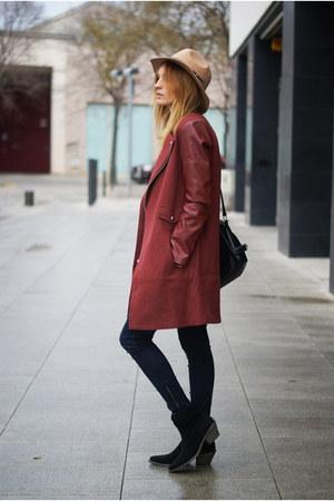 Sheinsidecom coat - Zara jeans