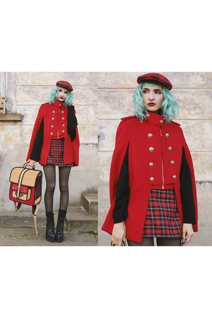 AmiClubWear boots - Happy Monday dress - Quaint coat - JumpFromPaper bag