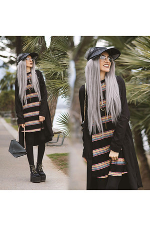 gypsy warrior dress - TUK boots - gypsy warrior shirt - MAUDE STUDIO bag