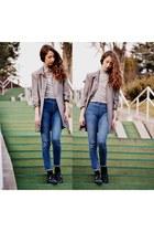 blue H&M leggings