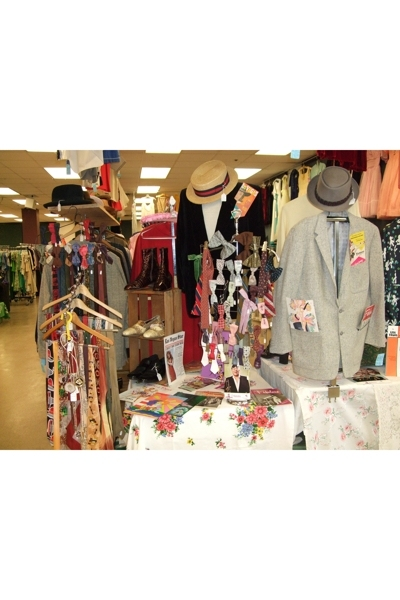 Our Booth At  Midwest Vintage Clothing Show&SalE