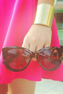 Black-cat-eye-forever-21-sunglasses-black-mary-jane-seventeen-origins-wedges