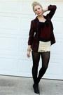 Crochet-shorts