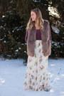 Tan-faux-fur-justfashionnow-vest-brittanys-beauty-box-bodysuit