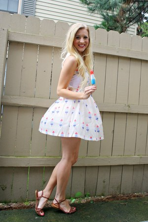 bombpop print shein dress