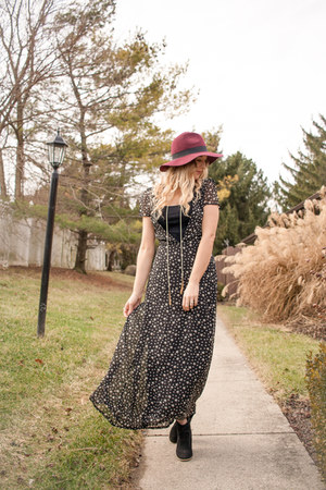star print maxi Rosegal dress