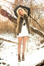 Boots-white-white-lace-forever-21-dress-charcoal-forever-21-cardigan-faux-