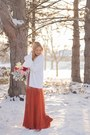 Ombre-maxi-forever-21-dress-cream-cardigan-sweater-gray-modcloth-tights