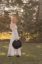 Metisu dress - black hat