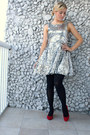 Silver-sequin-dress