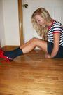 Vintage-shirt-vintage-skirt-socks-shoes