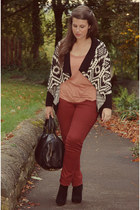 Misguided cardigan - Shoes shoes - warehouse jeans - Ebay bag