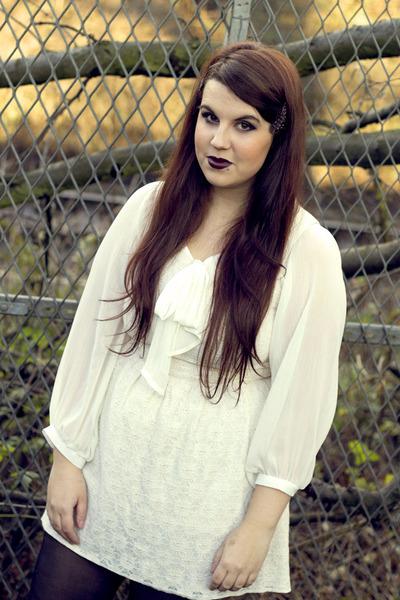 eggshell new look dress - cream Primark shirt