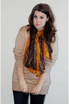 jumper - scarf