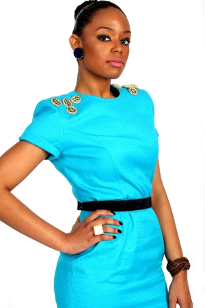 blue virgos lounge dress