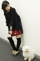 trench style KITTERICK cape - Jeffrey Campbell shoes
