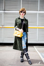 Sky-blue-moussy-jeans-gold-furla-bag