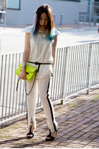 Mango bag - Twisted Sisters pants - Forever21 belt - Twisted Sisters top