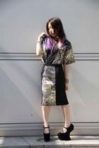 Supertronic Fashion by Celeste top - Jeffrey Campbell heels